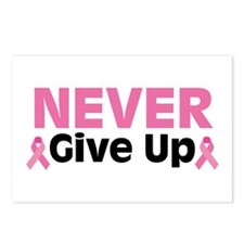 Never Give Up Postcards (Package of 8)