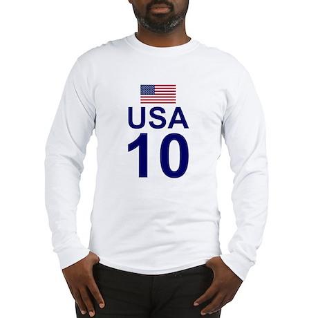usa10 Long Sleeve T-Shirt