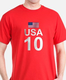 usa10_white T-Shirt