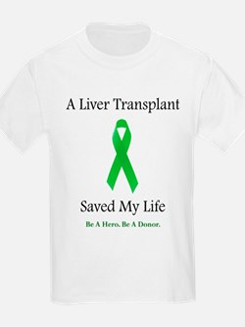 Liver Transplant Survivor Kids T-Shirt