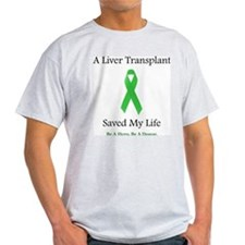Liver Transplant Survivor Ash Grey T-Shirt