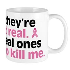 They're Not Real Mug