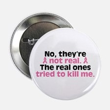 "They're Not Real 2.25"" Button"