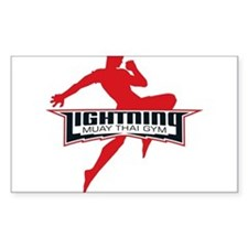 Lightning Muay Thai Decal