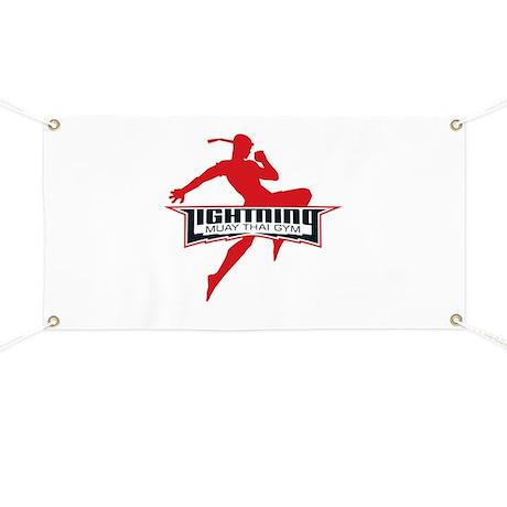 Lightning Muay Thai Banner