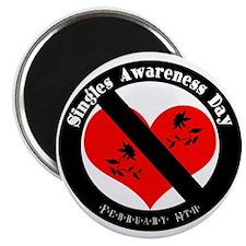 "Singles Awareness Day! 2.25"" Magnet (10 pack)"