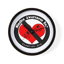 Singles Awareness Day! Wall Clock