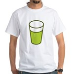 Green Beer White T-Shirt