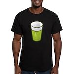 Green Beer Men's Fitted T-Shirt (dark)