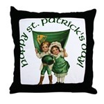 Wearin' of the Green Throw Pillow