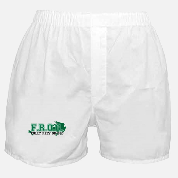 FROG Green Boxer Shorts