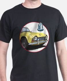 The yellow TR4 T-Shirt