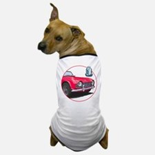 The red TR4 Dog T-Shirt