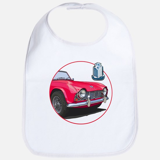 The red TR4 Bib