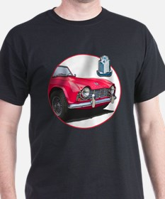 The red TR4 T-Shirt