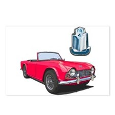 Cute Cars Postcards (Package of 8)