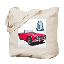 Cute Sports car Tote Bag