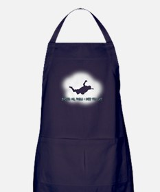 Excuse Me While I Kiss the Sk Apron (dark)