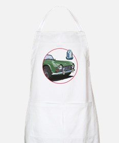 The green TR4 Apron