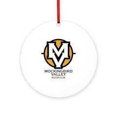 Mockingbird Soccer Logo Ornament (Round)