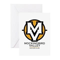 Mockingbird Soccer Logo Greeting Cards (Pk of 20)