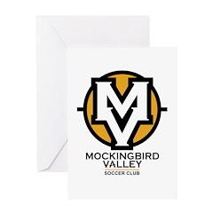 Mockingbird Soccer Logo Greeting Card