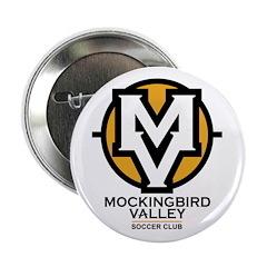"Mockingbird Soccer Logo 2.25"" Button (100 pac"