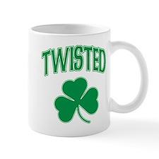 Twisted Irish Shamrock Mug
