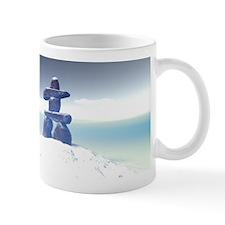 Winter inukshuk Mug