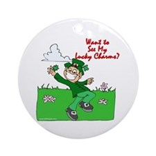Lucky Charms Ornament (Round)