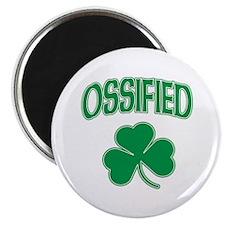"Ossified Irish Shamrock 2.25"" Magnet (10 pack)"