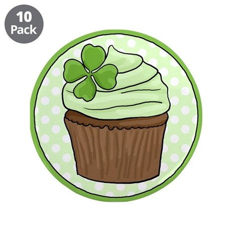 "Leprechaun Button - 3.5"" Button (10 pack)"