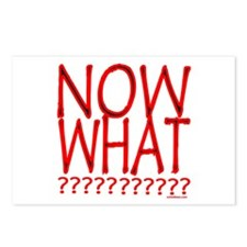 NOW WHAT? Postcards (Package of 8)
