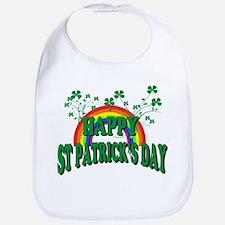 Happy St. Patrick's Day Bib