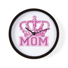Crown Mom Wall Clock