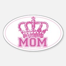 Crown Mom Sticker (Oval)