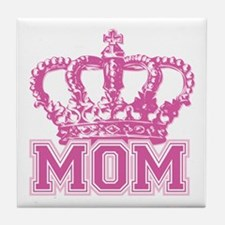 Crown Mom Tile Coaster