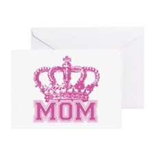 Crown Mom Greeting Card