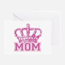 Crown Mom Greeting Card