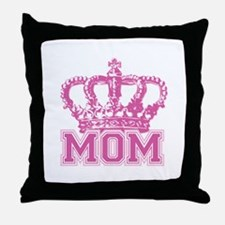 Crown Mom Throw Pillow