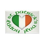 Tricolour Heart Magnets (10 pack)