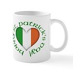 Tricolour Heart Mug