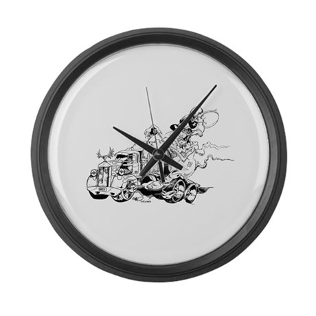 Kenny The Rat Large Wall Clock