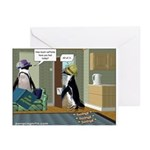 Caffeine overload Greeting Cards (Pk of 10)