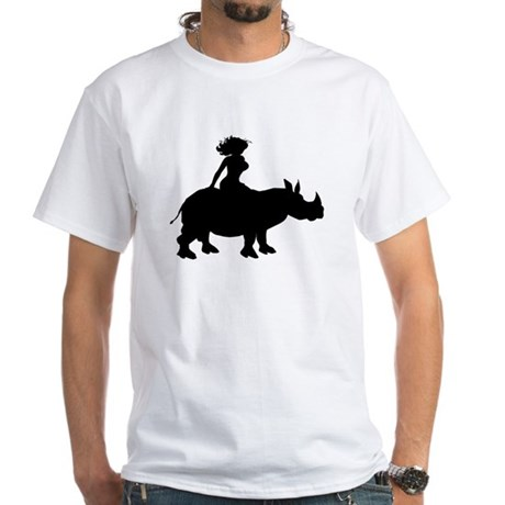 Sex Rhino White T-Shirt