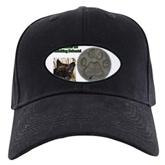I'd Rather be Tracking Bobcat Baseball Hat