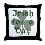 Irish for a Day Throw Pillow