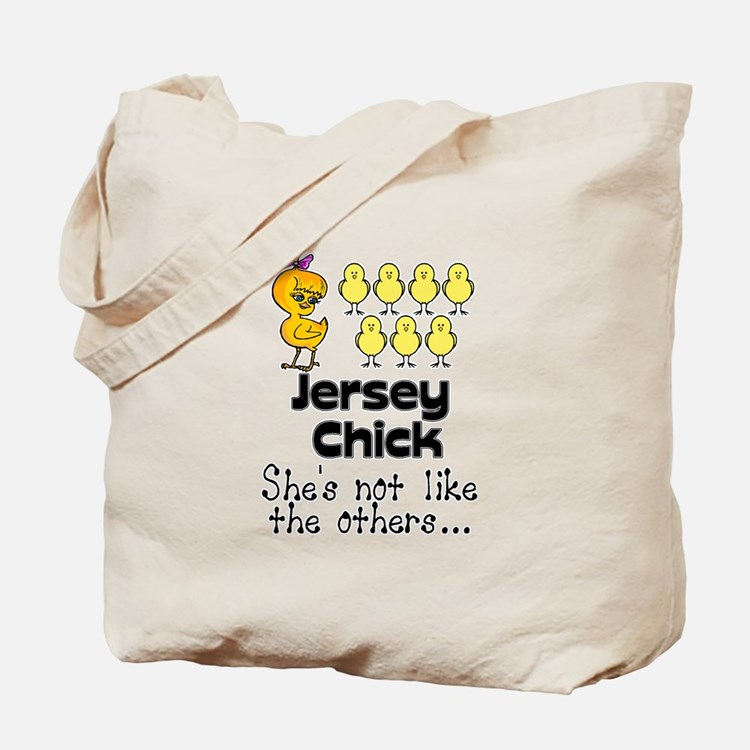 Jersey Chick Tote Bag