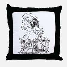 My Favrote things Throw Pillow