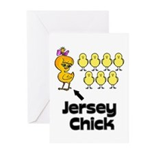 The Jersey Chick Greeting Cards (Pk of 20)